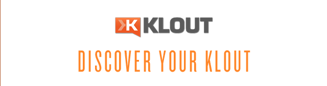 Discover your Klout